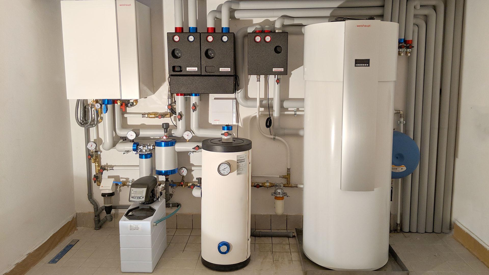 Pompa Di Calore Ventilconvettori impianto a pompa di calore ad inverter | trebbi idroimpianti